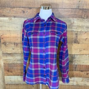 PATAGONIA Organic Cotton Flannel Shirt Sz 6